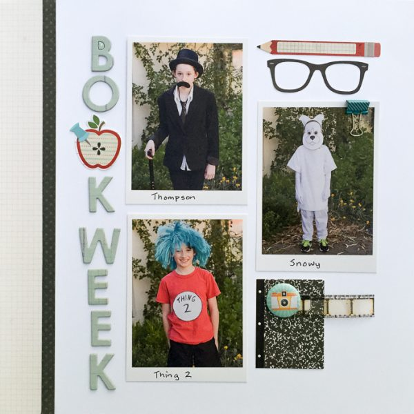 Scrapbook Ideas Inspired by Flatlay Photography | Kristy T. | Get It Scrapped