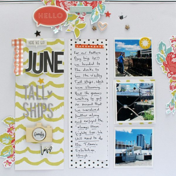 Organize Your Scrapbook Page Elements in Columns and Rows | Sian Fair | Get It Scrapped