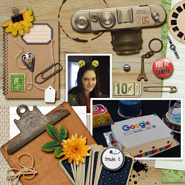 Scrapbook Ideas Inspired by Flatlay Photography | Stefanie Semple | Get It Scrapped
