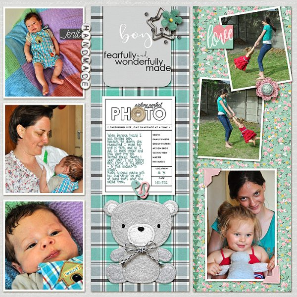 Organize Your Scrapbook Page Elements in Columns and Rows | Stefanie Semple | Get It Scrapped