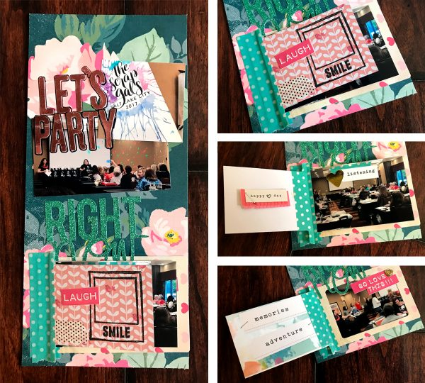 Scrapbook Ideas for Using Interactive Elements on the Page | Megan Blethen | Get It Scrapped