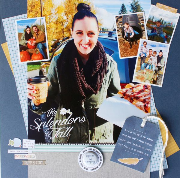 Ideas for Taking Scrapbook Page Inspiration from Brand Style Guides | Shanna Hystad | Get It Scrapped