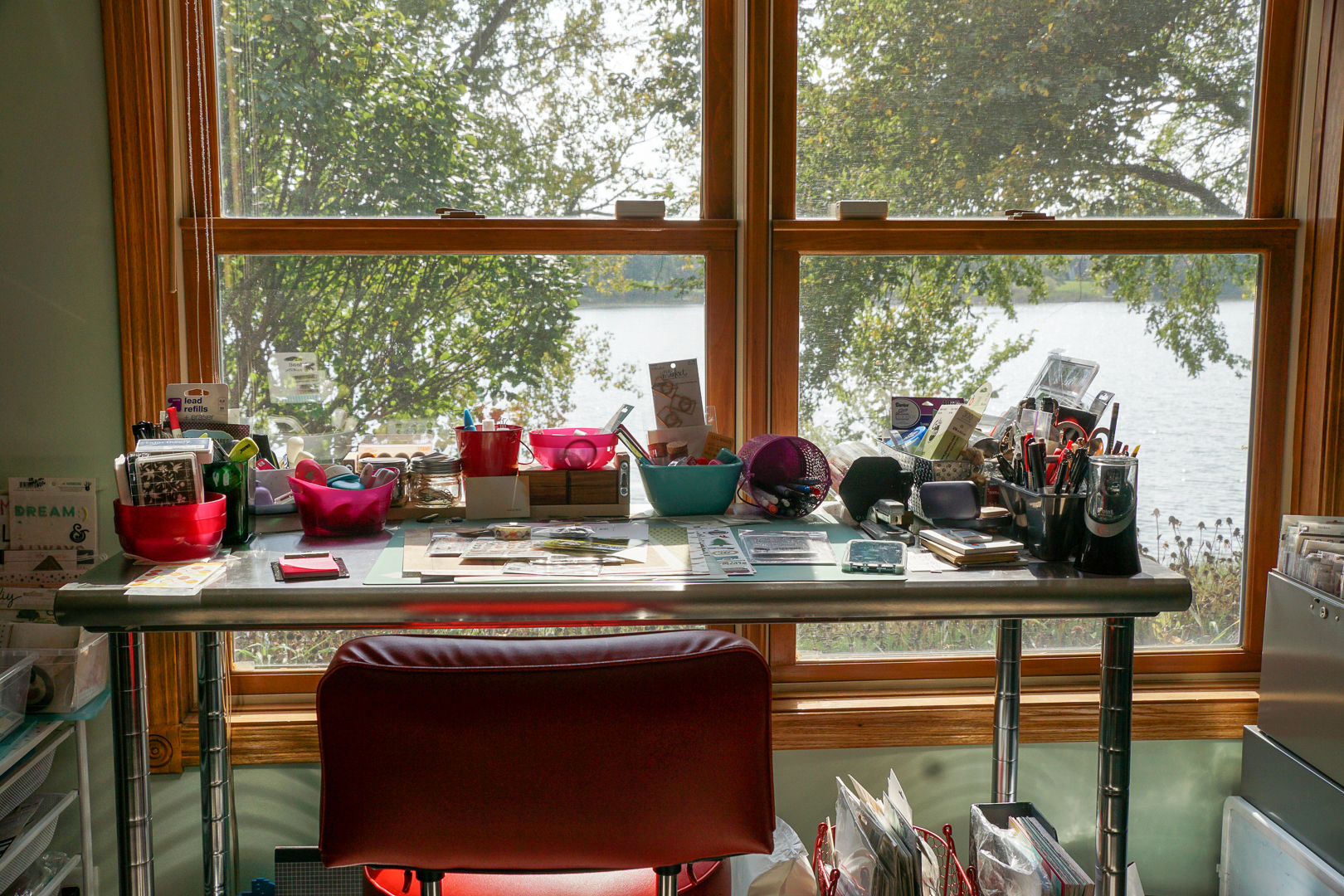 Where Do You Scrapbook? 4 Scrapbookers Share Their Spaces