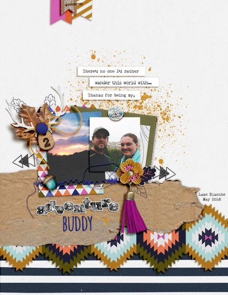 Ideas for Taking Scrapbook Page Inspiration from Brand Style Guides | Amy Kingsford | Get It Scrapped