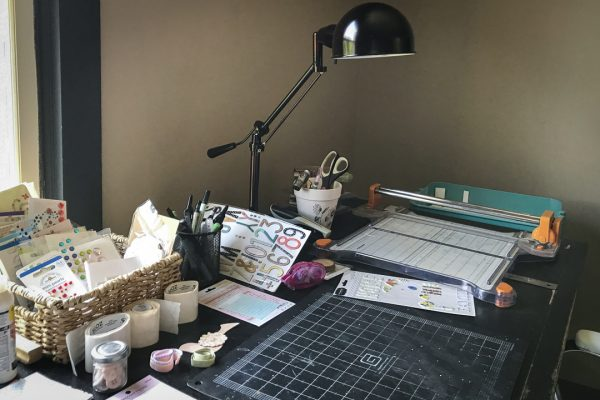 Where Do You Scrapbook? 4 Scrapbookers Share Their Spaces | Kelly Sroka | Get It Scrapped
