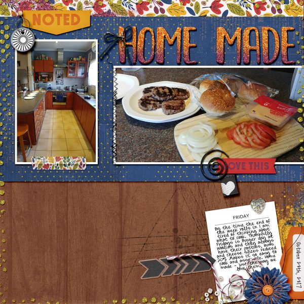 Scrapbook Ideas for Using Contrast to Create Flow on the Page | Stefanie Semple | Get It Scrapped