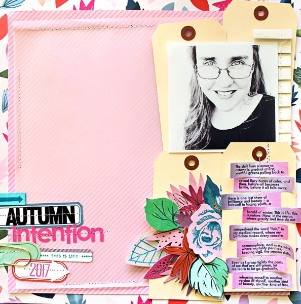 Scrapbook Ideas for Recording Your Intentions | Jill Sprott | Get It Scrapped