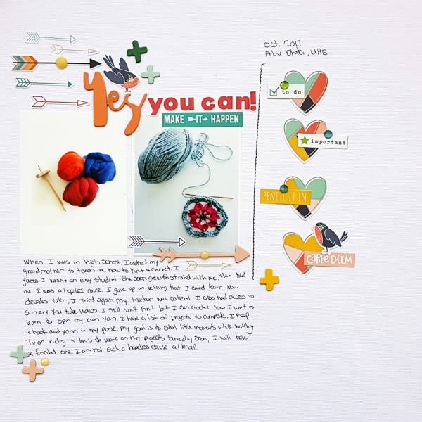Scrapbook Ideas for Recording Your Intentions | Christy Strickler | Get It Scrapped