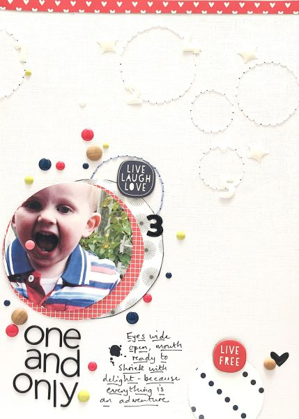 Scrapbook Ideas for Using Contrast to Create Flow on the Page | Sian Fair | Get It Scrapped
