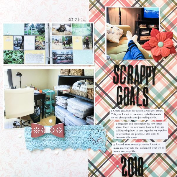 Scrapbook Ideas for Recording Your Intentions | Kelly Sroka | Get It Scrapped