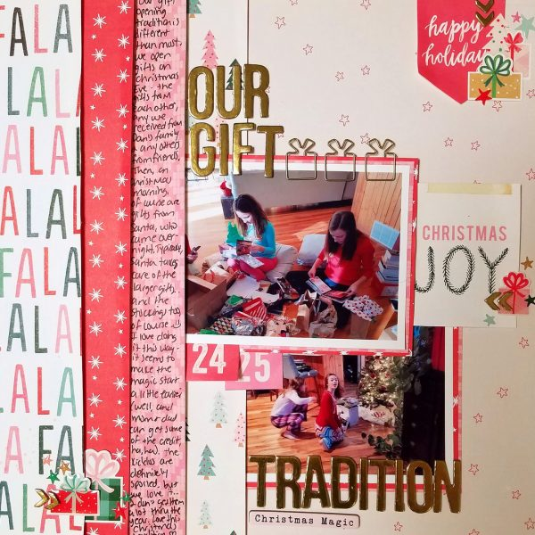 Scrapbook Ideas for Recording Your Favorite Holiday Traditions | Nicole Mackin | Get It Scrapped