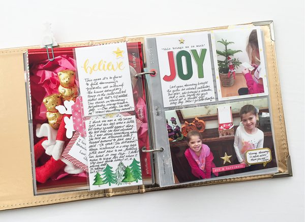 Scrapbook Ideas for Recording Your Favorite Holiday Traditions | Marie-Pierre Capistran | Get It Scrapped