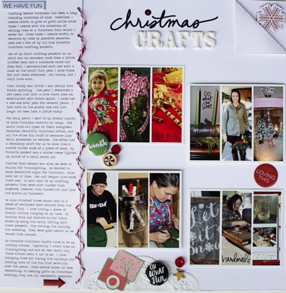 Scrapbook Ideas for Recording Your Favorite Holiday Traditions | Shanna Hystad | Get It Scrapped