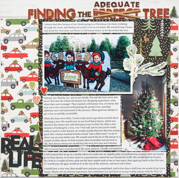 Scrapbook Ideas for Recording Your Favorite Holiday Traditions | Marcia Fortunato | Get It Scrapped