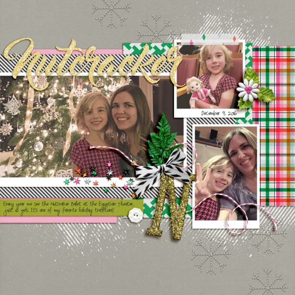 Scrapbook Page Techniques Inspired by Gift Wrapping | Lynnette Wilkins | Get It Scrapped