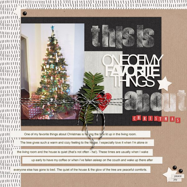 Scrapbook Page Techniques Inspired by Gift Wrapping | Dawn Farias | Get It Scrapped