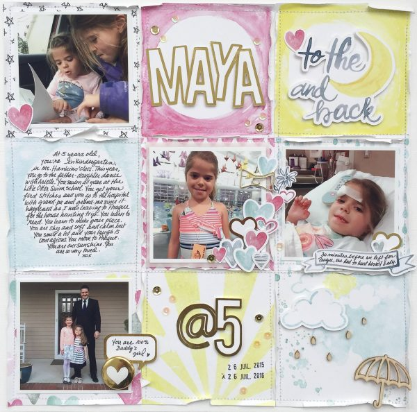 """Using the """"Canvas Within a Canvas"""" Approach on the Scrapbook Page 