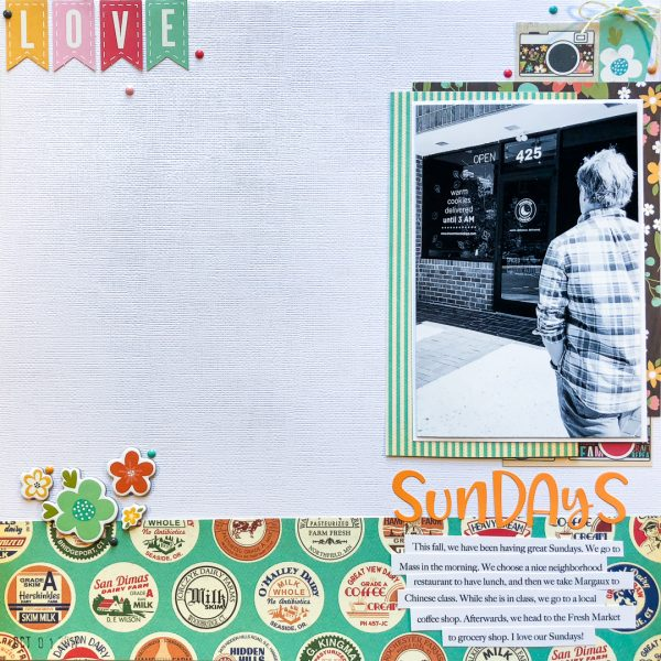 Translating Design Inspiration to the Scrapbook Page: Space | Kelly Sroka | Get It Scrapped