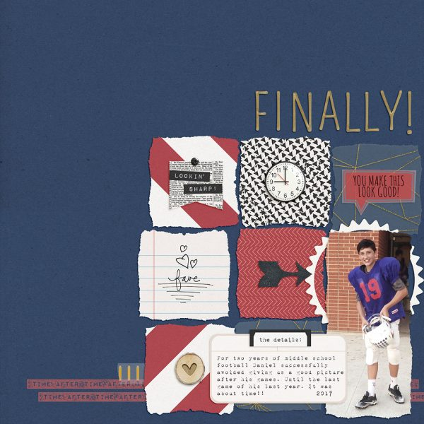 Translating Design Inspiration to the Scrapbook Page: Space | Dawn Farias | Get It Scrapped