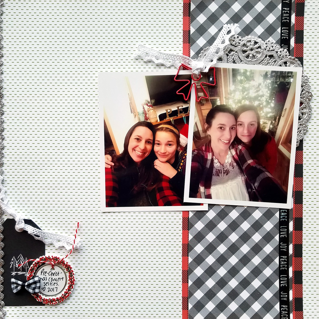 Find and Use Design Inspiration for Working with Line on the Scrapbook Page | Nicole Mackin | Get It Scrapped