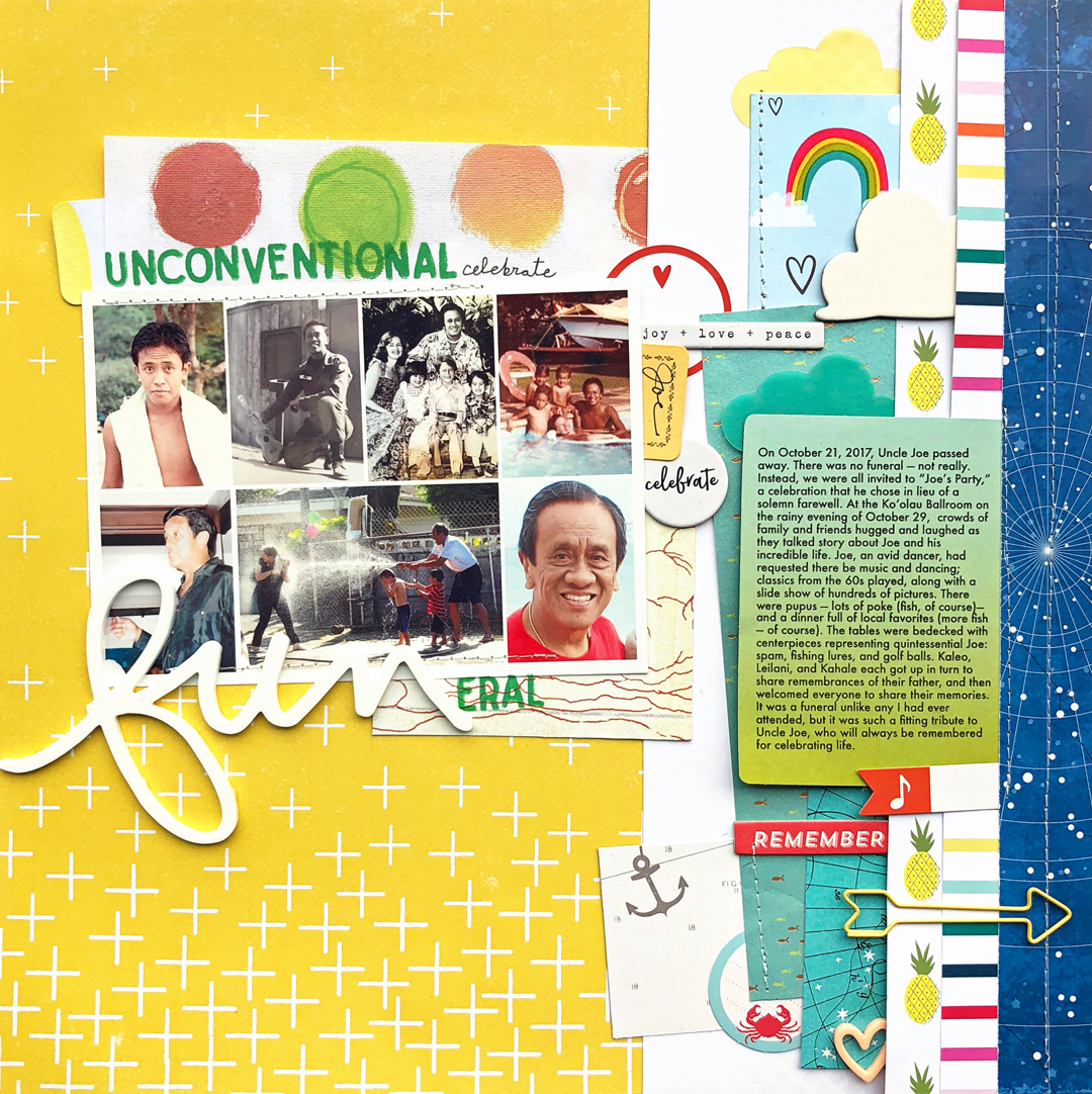 Find and Use Design Inspiration for Working with Line on the Scrapbook Page | Jill Sprott | Get It Scrapped