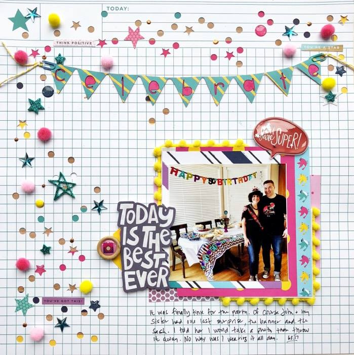 Add Pom Poms to Your Scrapbook Pages for Fun Texture + Dimension | Devra Hunt | Get It Scrapped