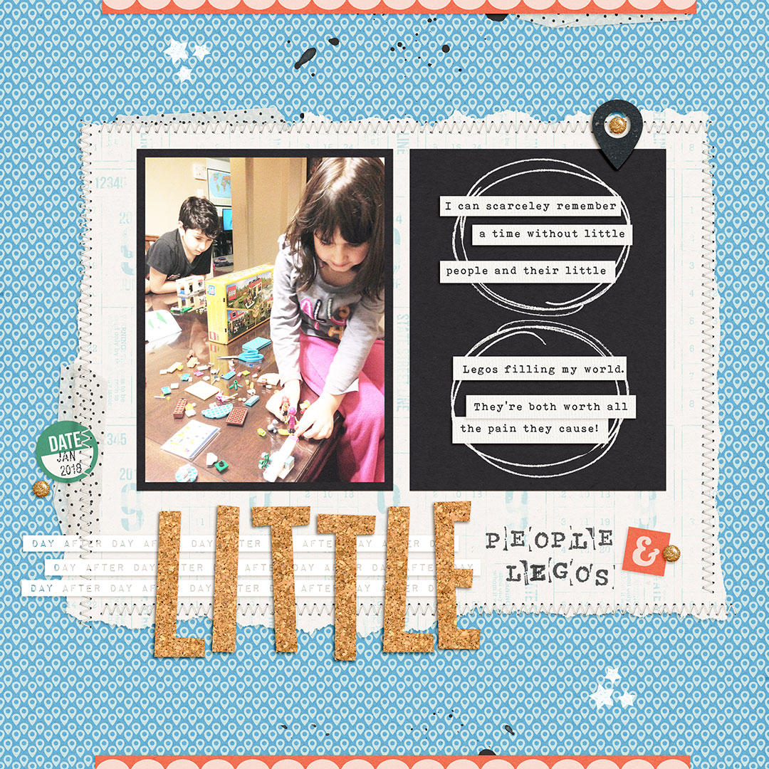 Scrapbook Ideas for Using Photos That Create a Record of Your World | Dawn Farias | Get It Scrapped