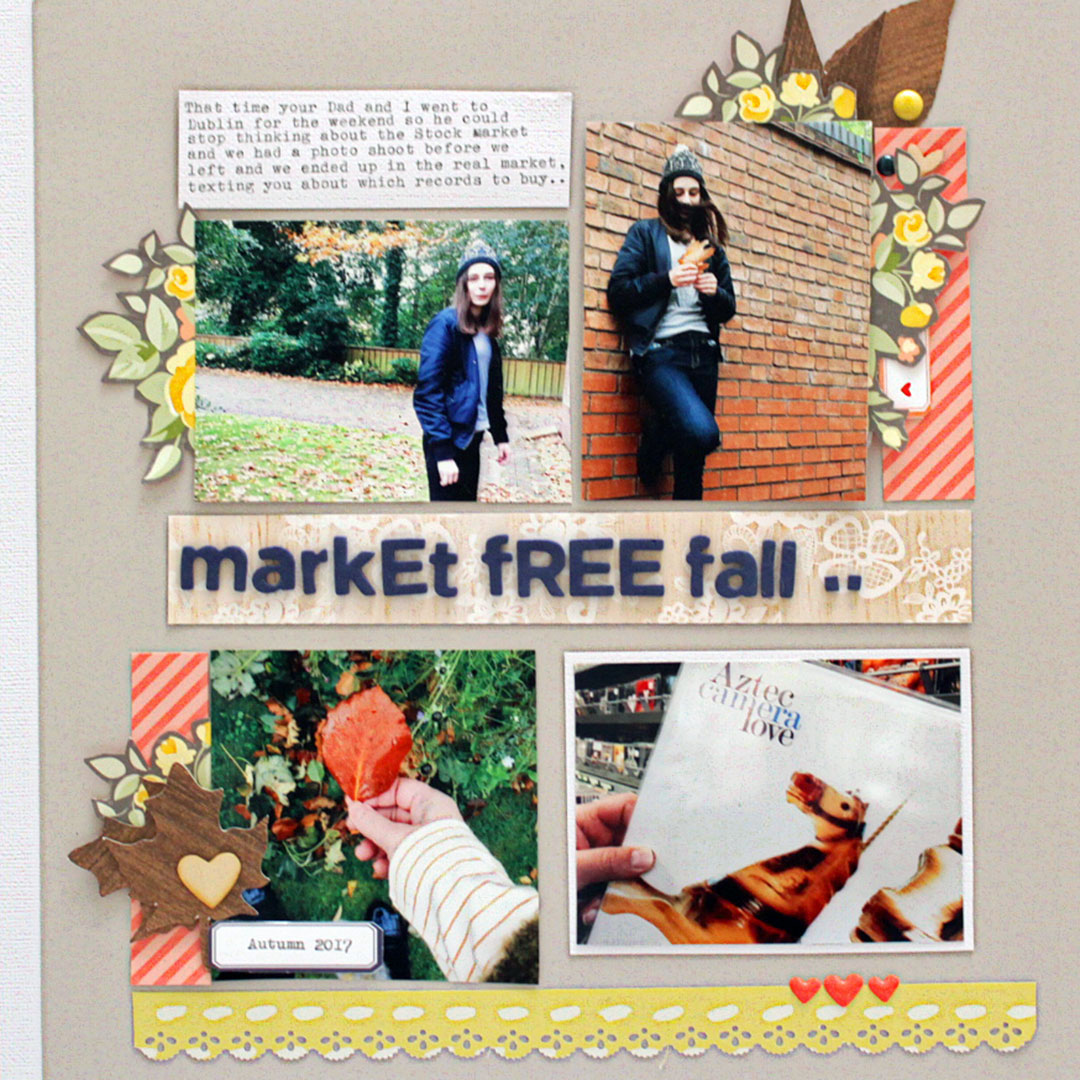 Scrapbook Page Starter: Arrange Your Page Elements Using a Two by Two Approach | Sian Fair | Get It Scrapped