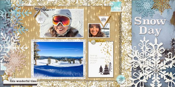 Scrapbook Page Starter: Arrange Your Page Elements Using a Two by Two Approach | Karen Poirier-Brode | Get It Scrapped