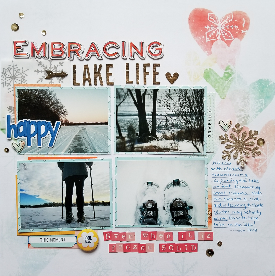 Scrapbook Page Starter: Arrange Your Page Elements Using a Two by Two Approach | Marica Fortunato | Get It Scrapped
