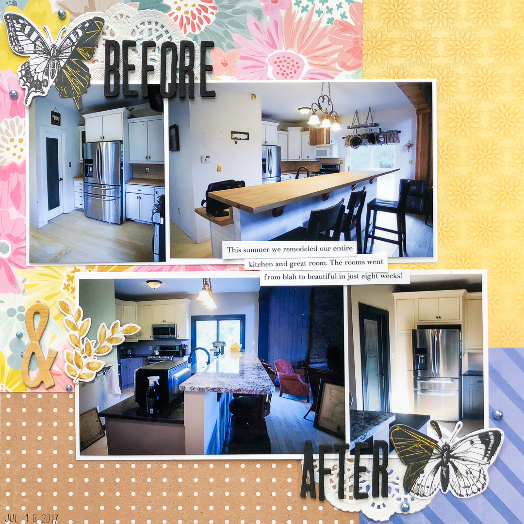 Scrapbook Page Starter: Arrange Your Page Elements Using a Two by Two Approach | Christy Strickler | Get It Scrapped