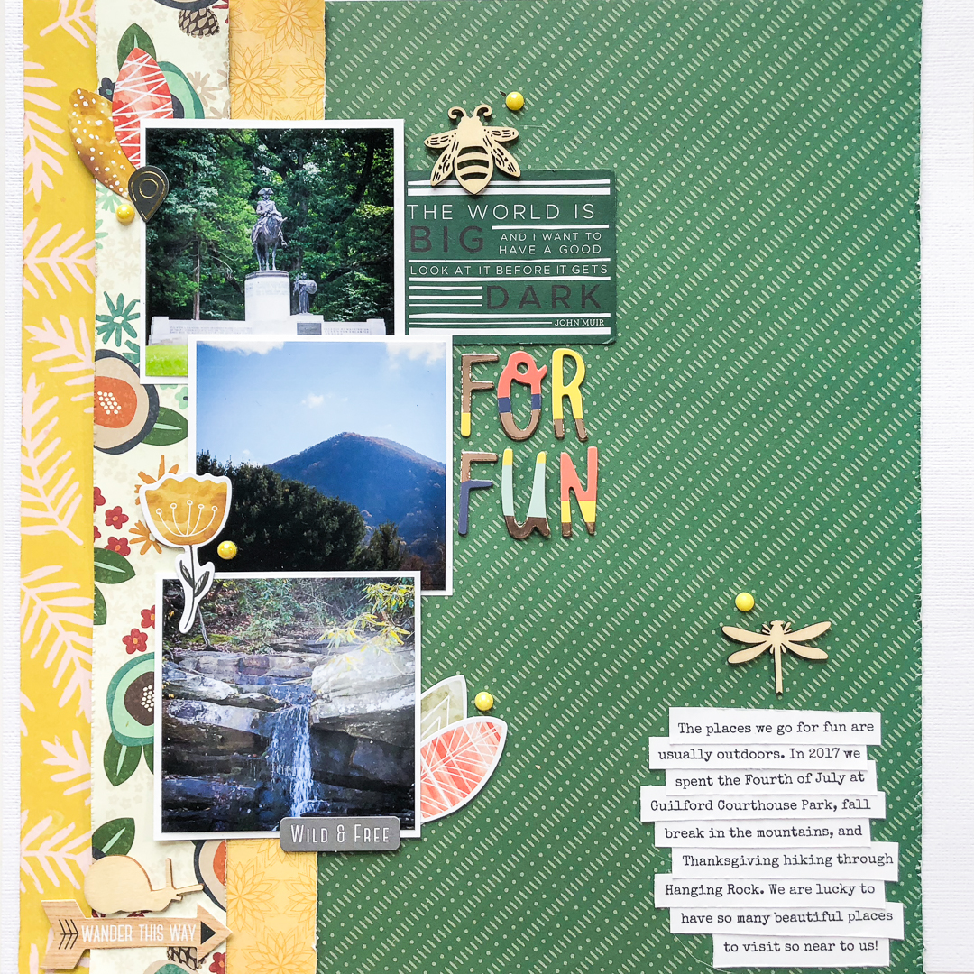 Scrapbook Ideas for Using Photos That Create a Record of Your World | Kelly Sroka | Get It Scrapped