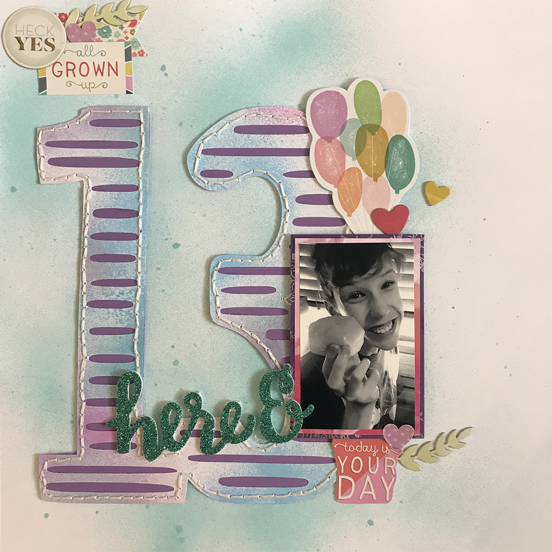 Creative Approaches to Recording Birthdays on the Scrapbook Page | Megan Blethen | Get It Scrapped