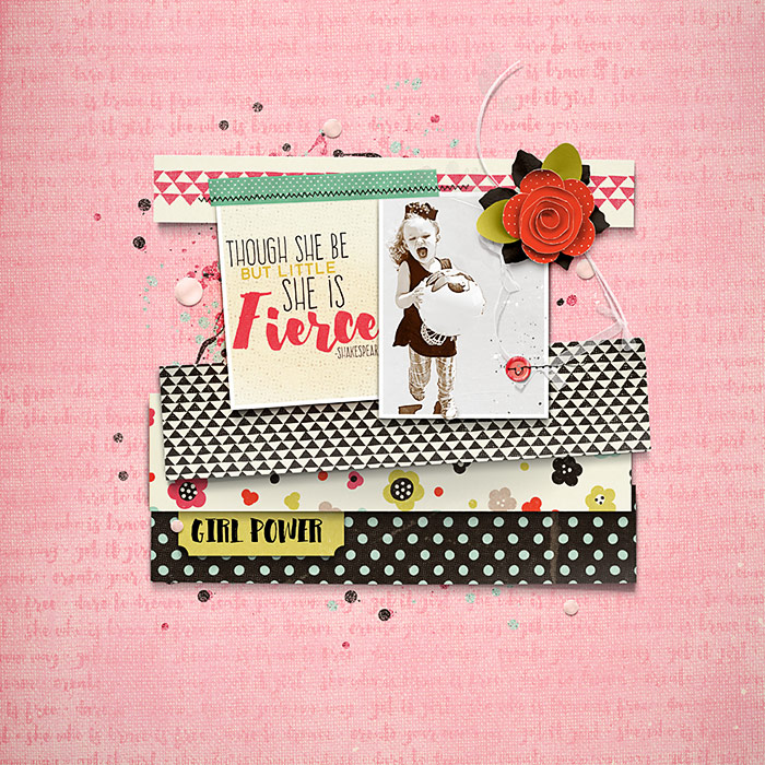 Four Ways to Use Paper Strips in Your Scrapbook Page Foundations | Deborah Wagner | Get It Scrapped