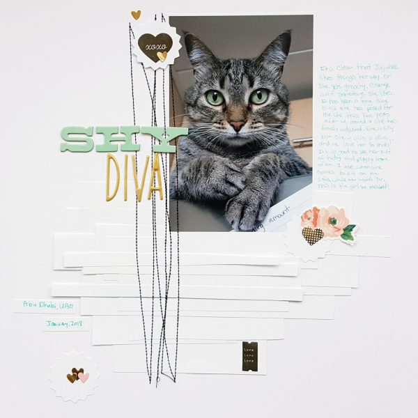 Four Ways to Use Paper Strips in Your Scrapbook Page Foundations | Christy Strickler | Get It Scrapped