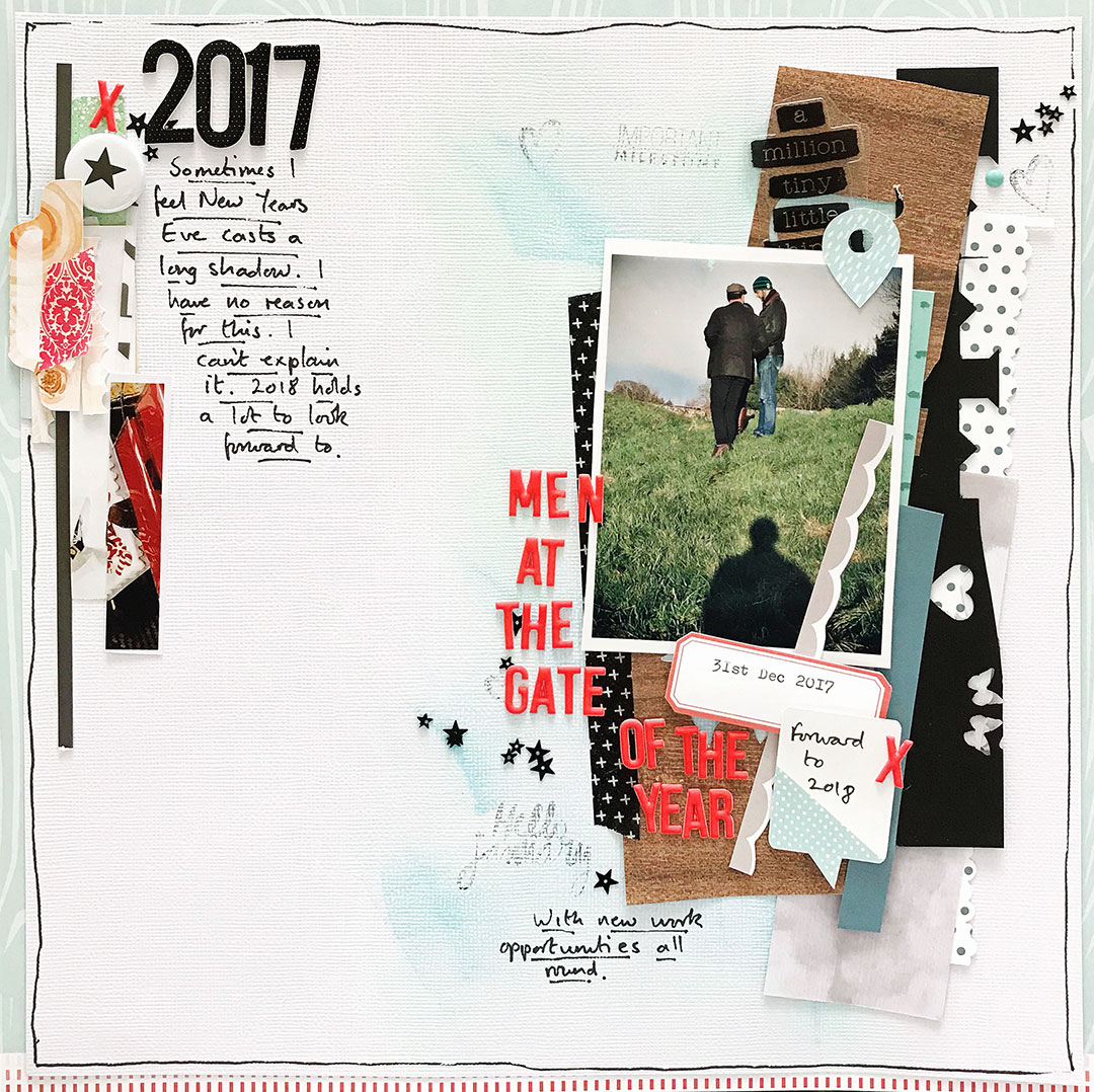 Four Ways to Use Paper Strips in Your Scrapbook Page Foundations   Sian Fair   Get It Scrapped