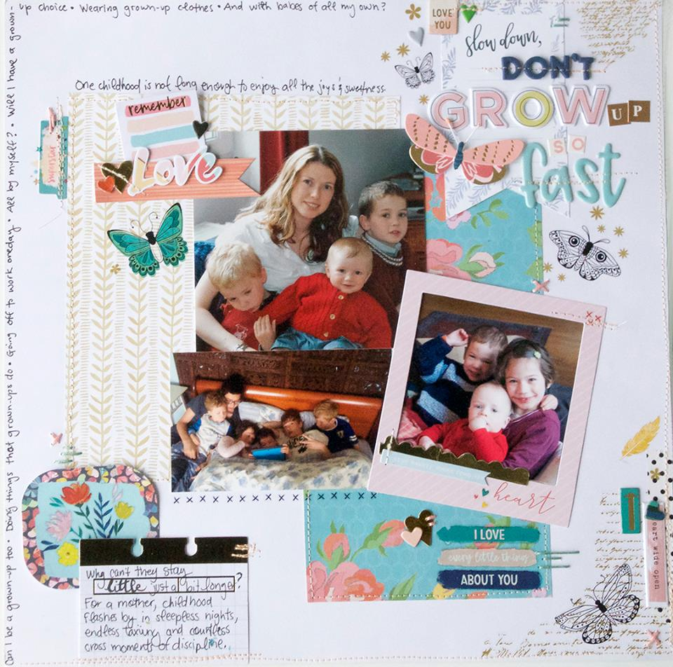 Add Texture and Charm to Your Scrapbook Pages with Creative Stitching Techniques | Cara Vincens | Get It Scrapped