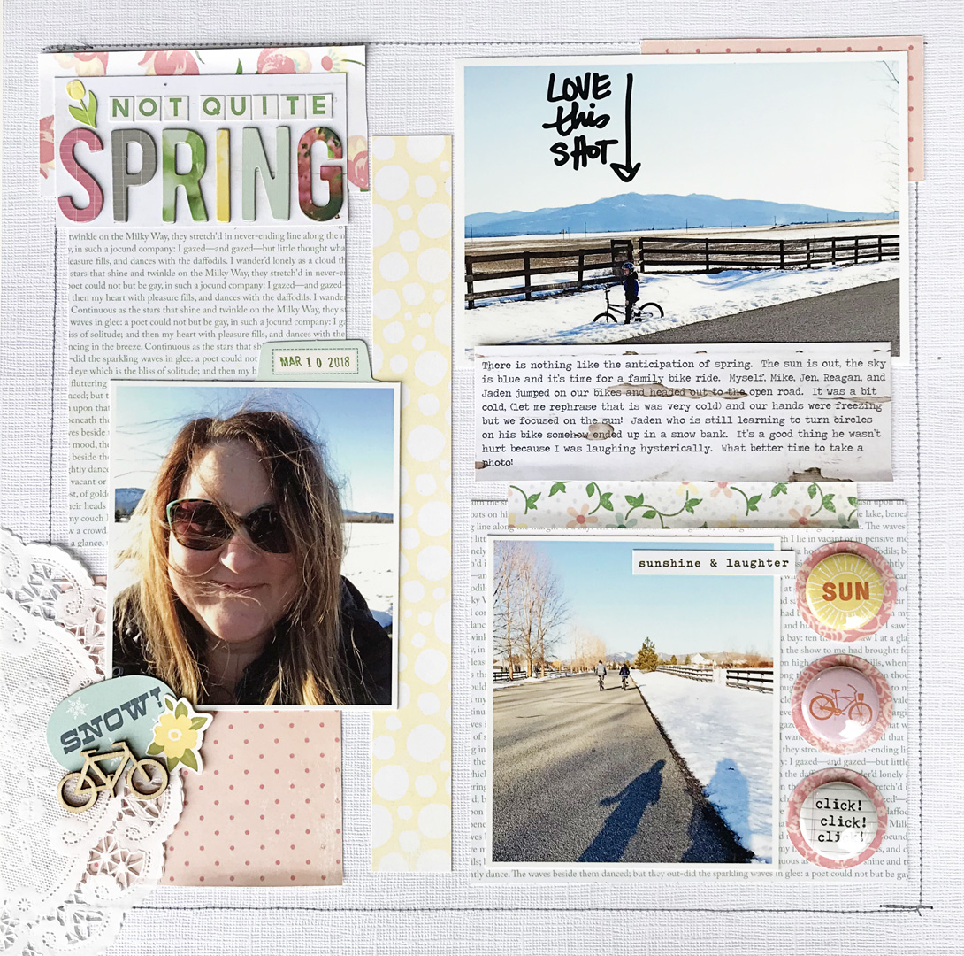 5 Things to Try on Your March Scrapbook Pages