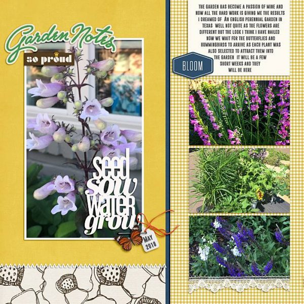 Change Up Your Scrapbook Page Designs with a Half and Half Approach | Ronnie Crowley | Get It Scrapped