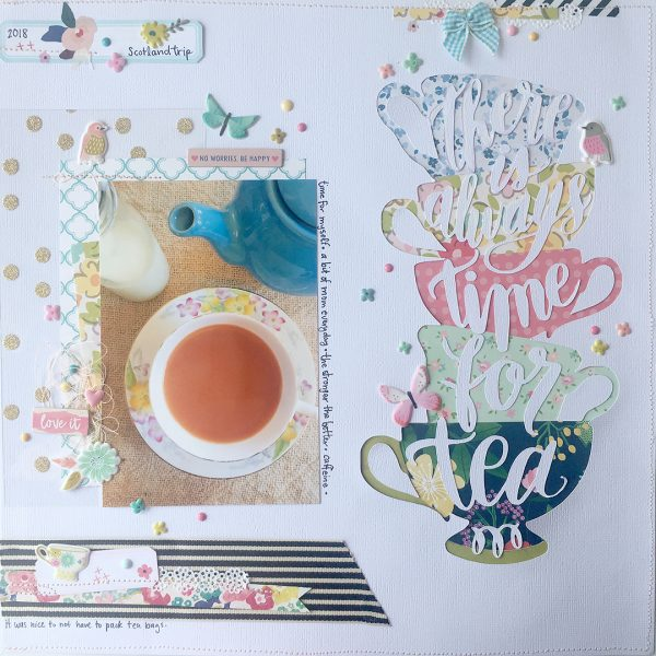 Creative Cutouts for Your Scrapbook Page Canvas | Cara Vincens | Get It Scrapped