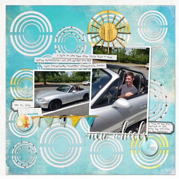 Creative Cutouts for Your Scrapbook Page Canvas | Kelly Prang | Get It Scrapped