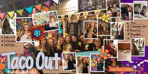 Scrapbook Ideas for Getting Your Party Photos on the Page | Ronnie Crowely | Get It Scrapped