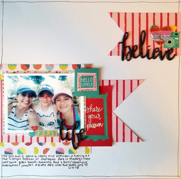 Scrapbook Ideas for Achieving Color Balance in Your Design | Nicole Mackin | Get It Scrapped