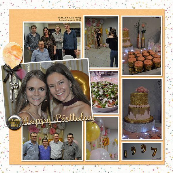 Scrapbook Ideas for Getting Your Party Photos on the Page | Stefanie Semple | Get It Scrapped