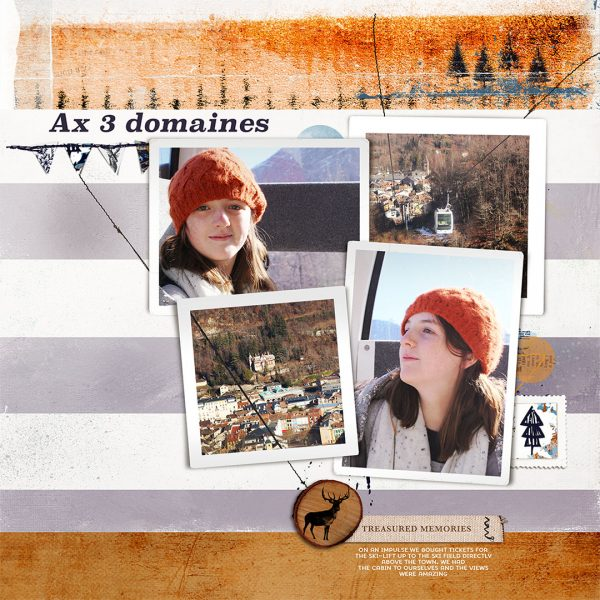 Using the Lines in Your Photos Effectively to Create Flow in Your Scrapbook Page | Lynn Grieveson | Get It Scrapped