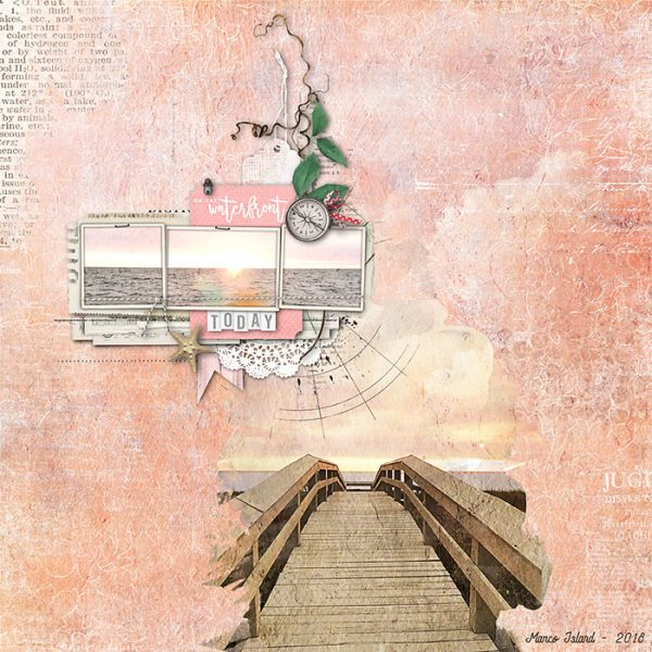 Using the Lines in Your Photos Effectively to Create Flow in Your Scrapbook Page | Deborah Wagner | Get It Scrapped