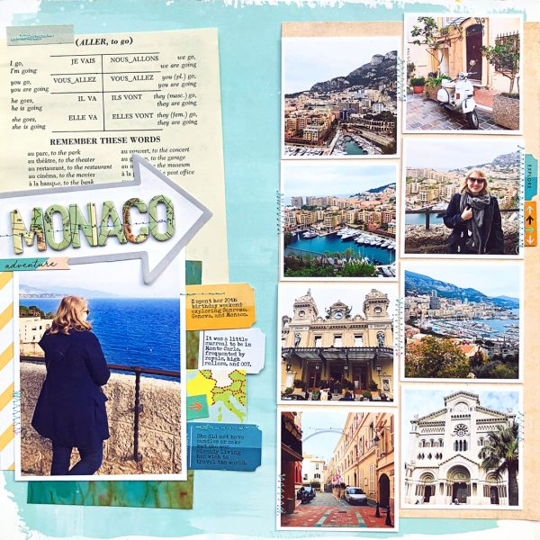 Using the Lines in Your Photos Effectively to Create Flow in Your Scrapbook Page | Jill Sprott | Get It Scrapped