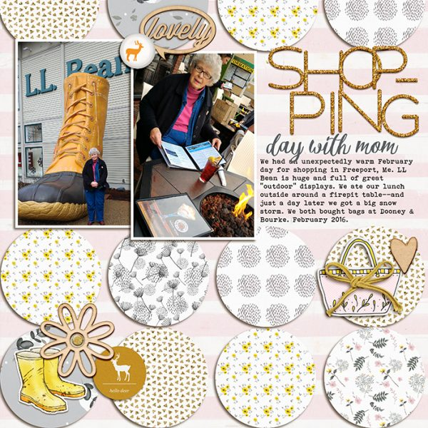 Scrapbook Ideas for Adding a Little Bit of Sparkle to the Page | Debbie Hodge | Get It Scrapped