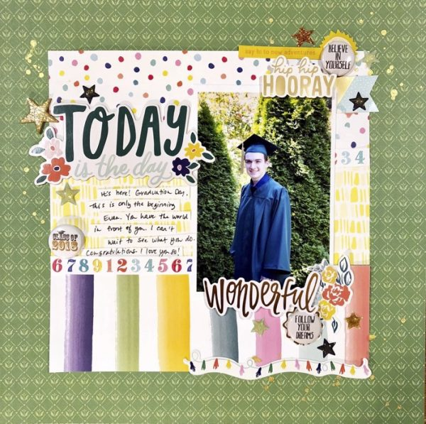 Scrapbook Ideas for Adding a Little Bit of Sparkle to the Page | Devra Hunt | Get It Scrapped