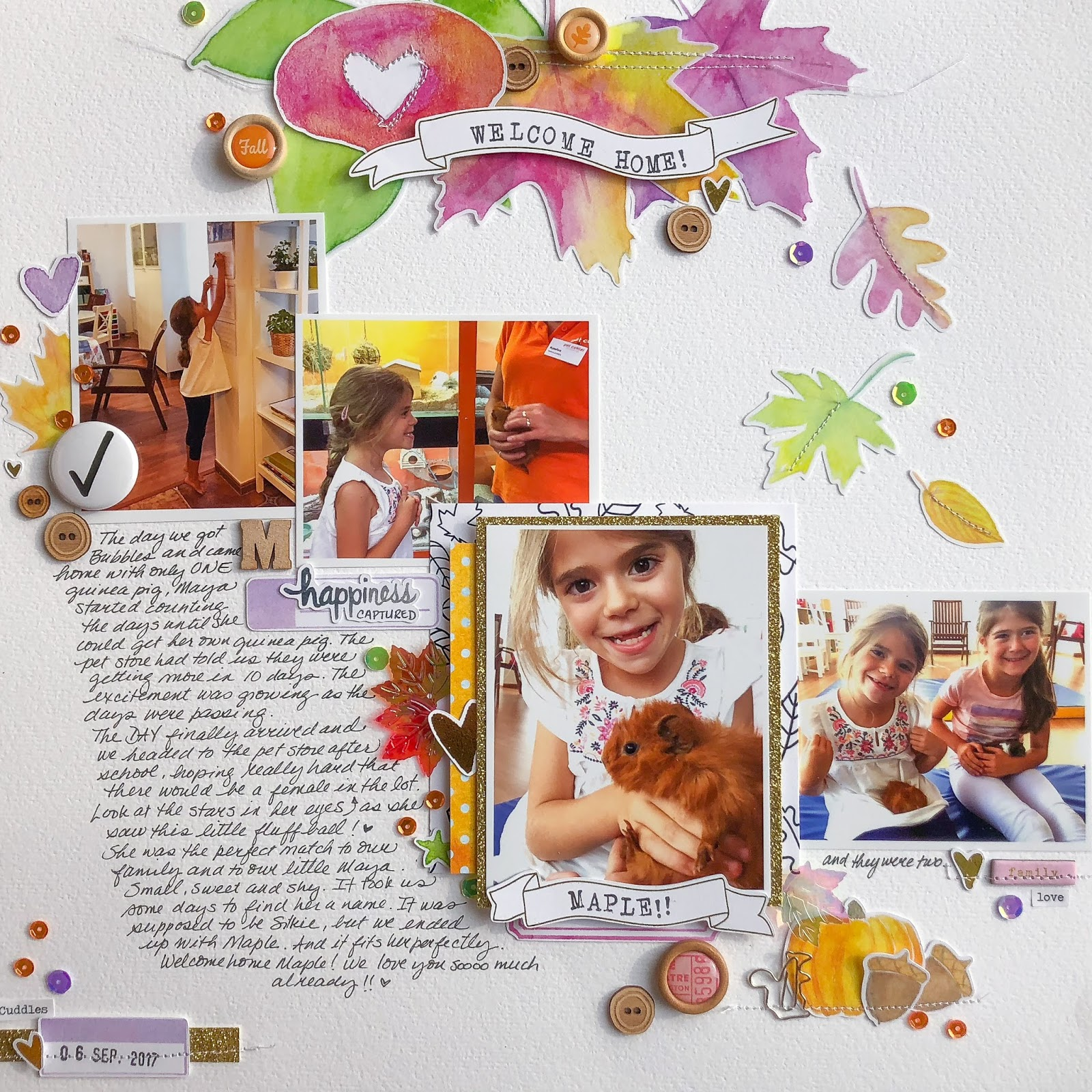 Scrapbook Ideas for Adding a Little Bit of Sparkle to the Page